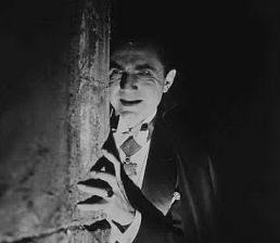Scene from Tod Browning's Dracula (1931).