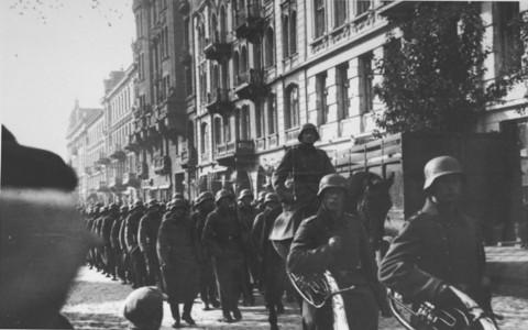 German troops occupied Paris on June 14, 1940.