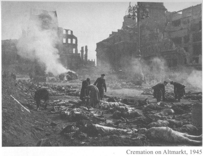 Dresden Firebombing Aftermath