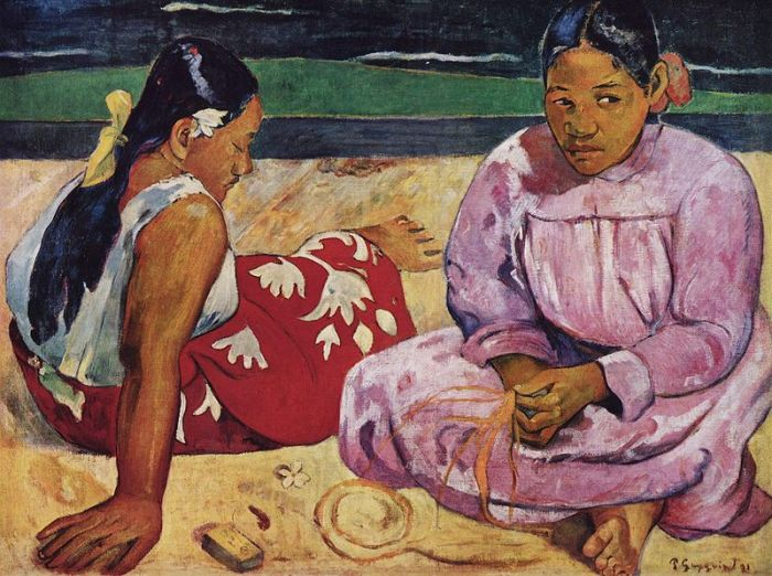 Tahitian Women on the Beach (1891) by Paul Gauguin