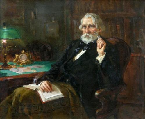 Ivan Turgenev (1818-83), renowned Russian novelist