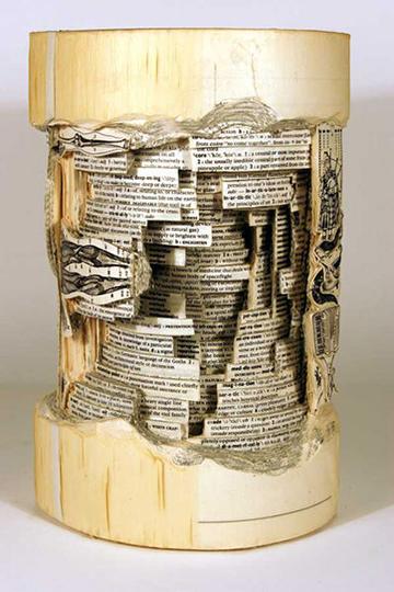 Brian Dettmer's Book Art