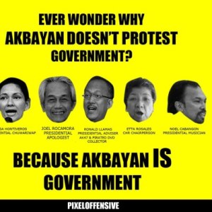 akbayan dont protest government