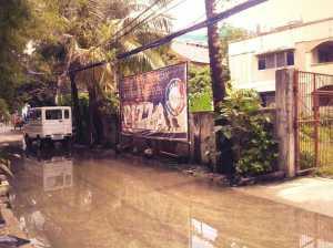 A semi-permanent feature of the rainy season.