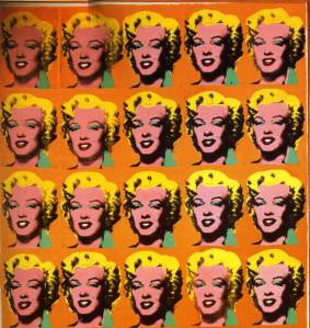 Andy Warhol: Excerpt Marilyn Diptych.