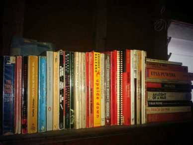 My books in Iloilo.