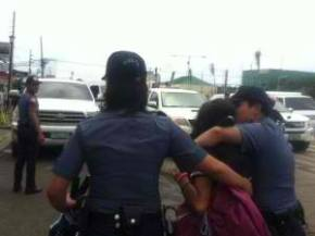 Youth activists disrupt BS Aquino speech in Iloilo