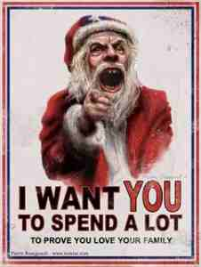Photo Credits: http://lipmag.com/wp-content/uploads/2013/12/Santa-Capitalism-226x300.jpg.