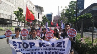 Photos by Anakbayan Secretary General Einstein Recedes.