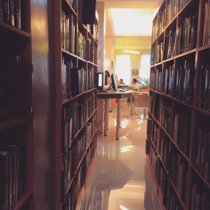 College of Mass Communication library.